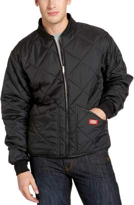 Dickies Men's Big-Tall Diamond Quilted Nylon Jacket
