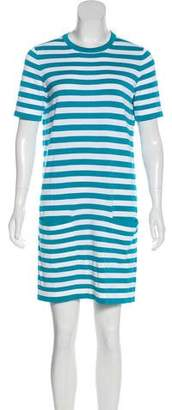 Michael Kors Striped Mini Dress