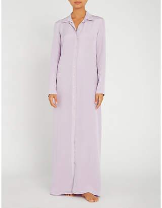 Olivia Von Halle Hero silk maxi dress