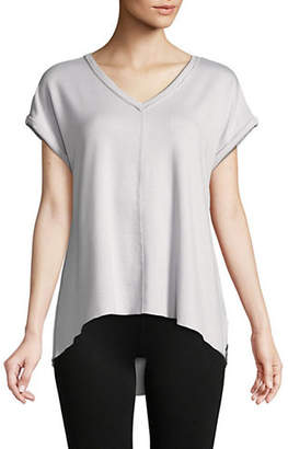 Calvin Klein Classic Rolled-Sleeves Top