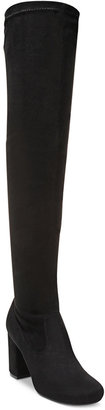 Carlos by Carlos Santana Rumor Over-The-Knee Block-Heel Boots $99 thestylecure.com