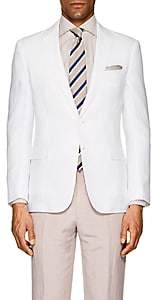 Ralph Lauren Purple Label MEN'S NIGEL SLUB LINEN TWO-BUTTON SPORTCOAT-WHITE SIZE 40 R