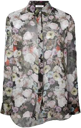 ADAM by Adam Lippes sheer floral blouse