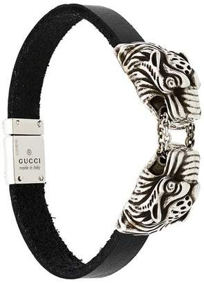 34c76e603 ... Gucci engraved tiger's head bracelet