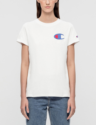 Champion Reverse Weave Logo SS T-shirt $45 thestylecure.com