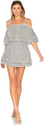 Tularosa x REVOLVE Bay Dress in Black & White $168 thestylecure.com