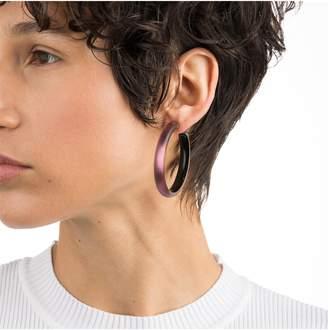 Alexis Bittar Vanitas Large Lucite(R) Hoop Earrings