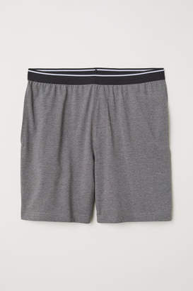 H&M Pajama Shorts - Gray