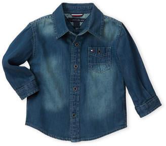 Tommy Hilfiger Infant Boys) Denim Max Shirt