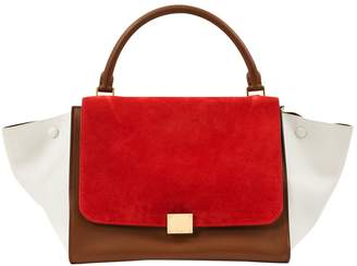Celine Trapèze leather bag