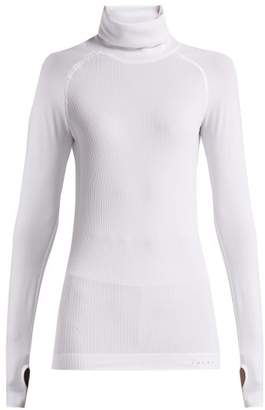 Falke Roll Neck Cable Knit Performance Top - Womens - White
