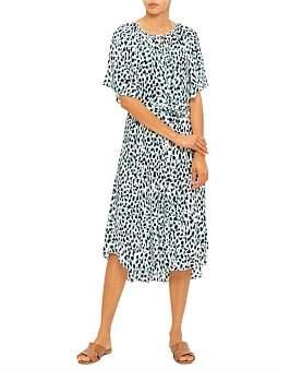 David Jones Abstract Animal Dress