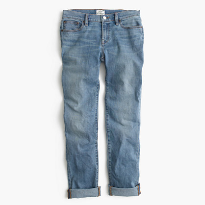 J.Crew Slim broken-in boyfriend jean in Monterey wash