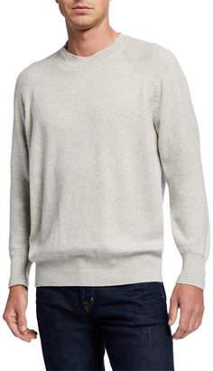 Tom Ford Men's Cashmere Crewneck Raglan Sweater