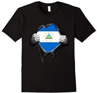 Nicaragua Flag T Shirt. Proud Nicaraguan