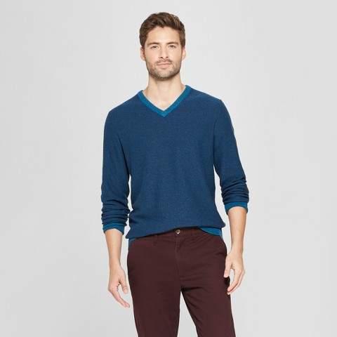 Goodfellow & Co Men's Standard Fit Crew Neck Sweater - Goodfellow & Co Blue