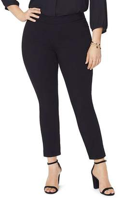 NYDJ Plus Alina Denim Leggings in Black