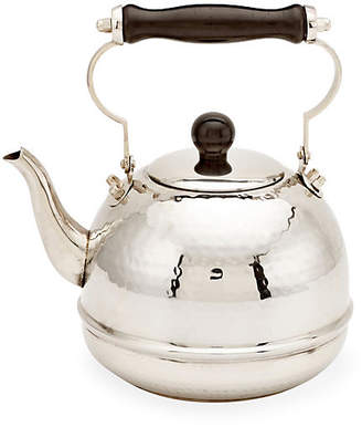One Kings Lane Hammered Teakettle with Wood Handle