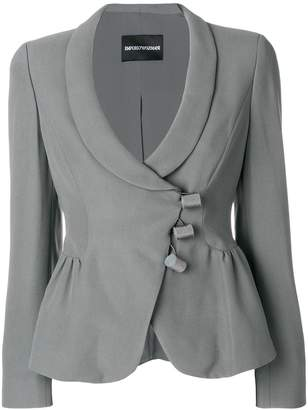 Emporio Armani three-button draped jacket
