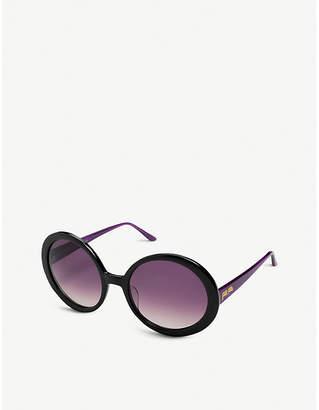 Folli Follie SG16B031K oval-frame sunglasses