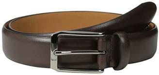 Geoffrey Beene Men's Dress Belt with Feathered Edge