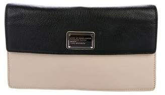 Marc by Marc Jacobs Bicolor Leather Clutch
