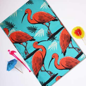 Rocket 68 Tropical Bird Tea Towel
