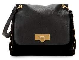 Donna Karan Medium Bay Leather Satchel