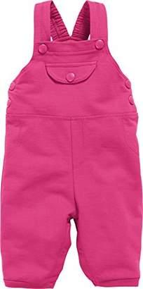 Playshoes Baby Sweat-Latzhose, Hose, Oeko-tex Standard 100 Dungarees, (Pink 18), (Size:56)