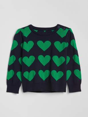 Gap Baby Heart Sweater