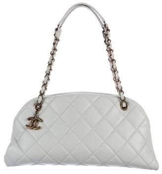 Chanel Just Mademoiselle Medium Bowler Bag