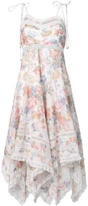 Zimmermann floral print flutter dress
