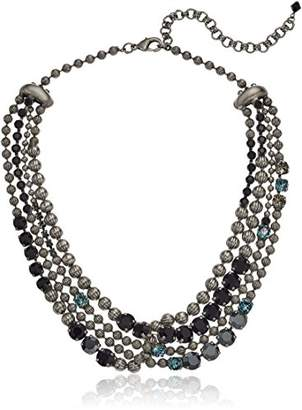 Sorrelli Onyx Jessamine Necklace