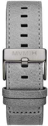 MVMT Mens Classic Series24mm Light Grey Leather