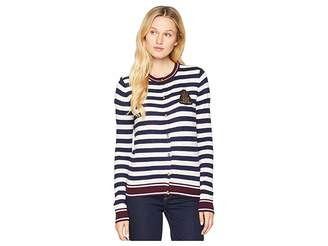 Lauren Ralph Lauren Bullion-Patch Cotton Cardigan