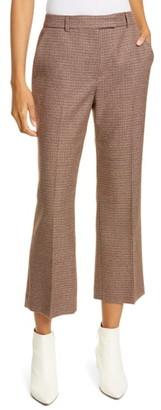 Judith & Charles Carrara Crop Flare Wool Pants