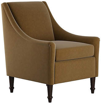 One Kings Lane Holmes Accent Chair - Sand Velvet