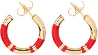 Aurelie Bidermann Positano mini hoops earrings