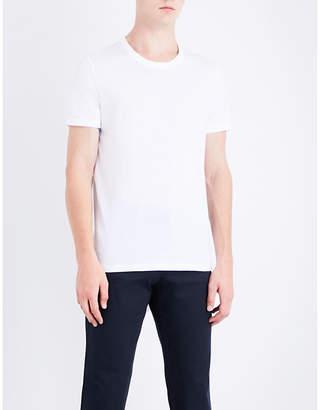 Boss Black Casual Logo-print cotton-jersey T-shirt
