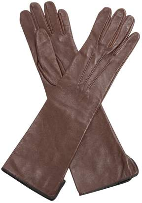 Forte Forte Forte_forte Brown Leather Gloves