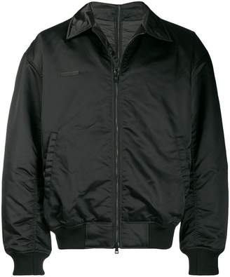 Wwwm back print bomber jacket