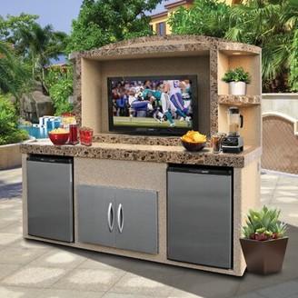 "Freeport Park Tia Outdoor Entertainment Center for TVs up to 50"" Freeport Park"