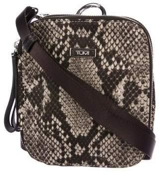 Tumi Printed Mini Nylon Crossbody Bag