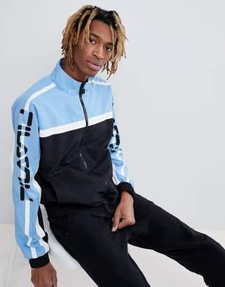 Fila black line Ezra track jacket in black