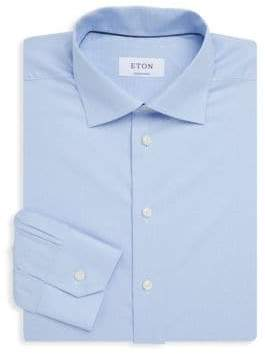 Eton Contemporary-Fit Cotton Dress Shirt