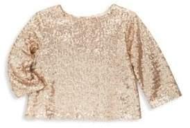 Bonpoint Little Girl's & Girl's Sequin Long-Sleeve Top