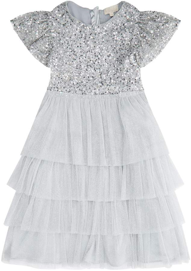 Wild & Gorgeous Sequinned Rocky Dress