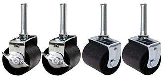 Khome A Set of 4 Heavy Duty Caster Wheels (Two Locking