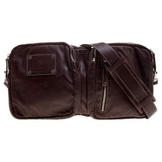 Gucci Burgundy Leather Clutch Bag