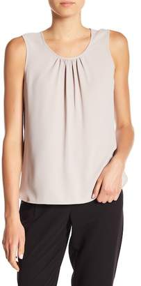 Anne Klein Sleeveless Shirred Neck Blouse